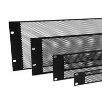 Penn Elcom 3U Flat Perforated Rack Panel