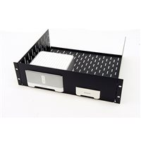 Penn Elcom 3U Vented Rack Shelf & Magnetic Faceplate For 1 x Sonos Bridge & 1 x Connect Amp R1498/3UK-S120B1