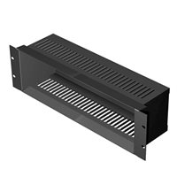 Penn Elcom Rack Unit 3U for CD Storage Black R1503/CD