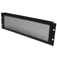 Penn Elcom 3U Rack Panel Flanged Perforated