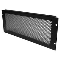 Penn Elcom 4U Rack Panel Steel Perforated