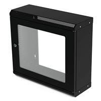 Penn Elcom 9U Shallow Wall Mount Rack