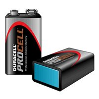 Procell Duracell Procell Size 9V / MN1604  Pack of 10 batteries Procell-9V(MOQ-200-B