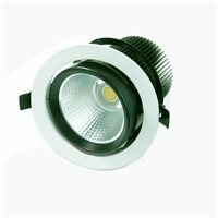 Comus LED Adjustable Downlight Triac Dimmable 10W 3000K LEDDOWNMD103K