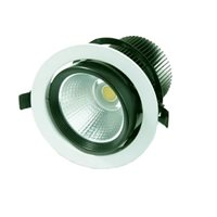 Penn Elcom Spot LED Adjustable Downlight Triac Dimmable 20W 3000K LEDDOWNMD203K
