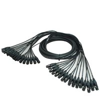 Comus 20M 16 Way XLR To XLR Multicore Loom Stealth Series