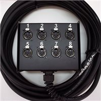 Comus 5M Stealth Series Multi-core 8 Channel Box To Braided Tails