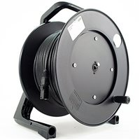 Comus 50M CAT5E Fixed Cable Reel Stealth Series