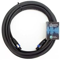 Comus 15M Speaker Lead 4 Core 4mm Stealth Series NLT4FX-BAG