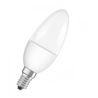 Osram SUPERSTAR Classic B 40 5.4W/4K SES Frosted Dim 4052899279599