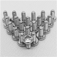 Penn Elcom M6 Zinc Pozi Head Screws Pack of 50 S1045/50