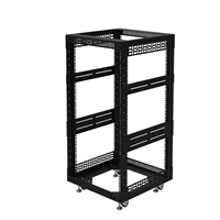 "Penn Elcom 20U Open Tower Rack System 510mm / 20"" Deep R8200-20/20UK"