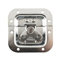 Penn Elcom Mini Recessed Butterfly Latch in Deep Plain Dish L904/914Z