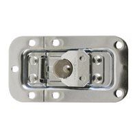 Penn Elcom 2 Unit Rack Lid Latch in Narrow and Very Shallow Plain Dish L903/7336Z