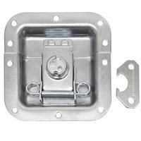 Penn Elcom Medium Tamper Proof Recessed Butterfly Latch in Deep Plain Dish L905/920Z