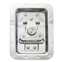"Penn Elcom Large Recessed Butterfly Latch in Deep Plain Dish. From Split to Hole Centre: 19mm / 3/4"" L925/525S"