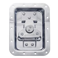 "Penn Elcom Large Recessed Butterfly Latch in Deep Plain Dish. From Split to Hole Centre: 19mm / 3/4"" L925/525Z"