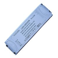 Ecopac UK ELED-60-24T 60 watt Mains (Triac) Dimmable constant voltage LED driver 24V IP20