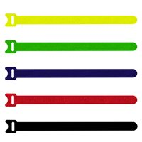 Penn Elcom Hook & Loop Cable Tie Black 200mm T1513/200