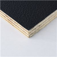 "Penn Elcom Black Rigid PVC On 9mm/3/8"" Birch Plywood"