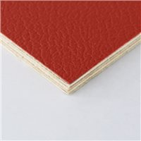 Penn Elcom Rigid Red PVC on 6.5mm Birch M876306