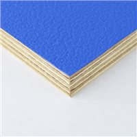 Penn Elcom Rigid Blue PVC On 12mm Birch M876112