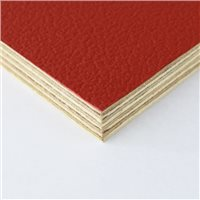 Penn Elcom Rigid Red PVC On 12mm Birch M876312