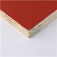 Penn Elcom Rigid Red PVC On 9mm Birch