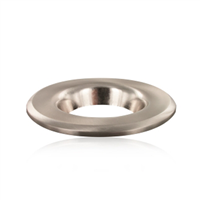 Integral Bezel Satin Nickel for the LED Fire Rated Downlight