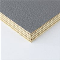 Penn Elcom Rigid Grey PVC On 12mm Birch M876212