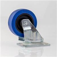 "Penn Elcom 100mm/3.94""  Heavy Duty Blue Castor Swivel W9000-V6"