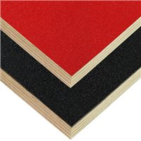"Penn Elcom 3/8"" Plywood with Black ABS one side"