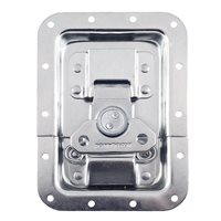 Penn Elcom Reversed Large MOL™ Recessed Butterfly Latch in Deep Plain Dish L944/524MOL