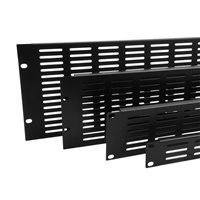 Penn Elcom Plaque Rack 3U à Bords Retournés et fentes de ventillation R1279/3UK R1279/3UK