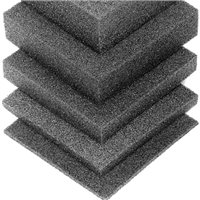 Penn Elcom Plank Foam Charcoal Rigid for shock mount 2743mm x 610mm x 6mm (1/4in)