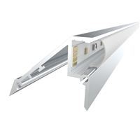 Comus 1M LEDAL02 KIT for 12.2mm Stair Light Aluminium Profile LEDAL02