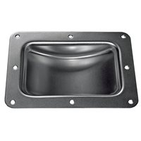 "Penn Elcom Castor Dish for 125mm / 5"" Castors Black W0962K"