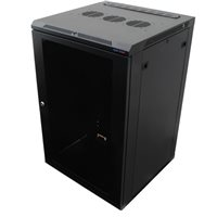 Penn Elcom WM Rack, 600mm x 18U, Vented Door, M6, Black R6618V-M6