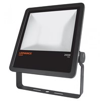LEDVANCE Black LED Floodlight 200W 4000K IP65 Non Dim 4058075001190