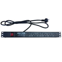 Penn Elcom 6 Way AU Power Distribution Unit PDU-AU-6