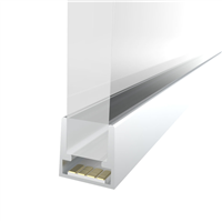 Comus 1M 10.3mm Slim Aluminium Profile for LED Flex (shelf lighting) LEDAL28A1M