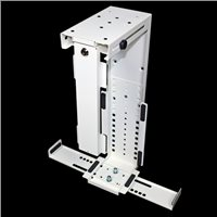Penn Elcom Rigid Locking Computer Holder White CPU-87W/L