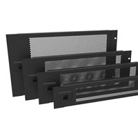 6U Hinged Vented Rack Panel R1372/6UVK por Penn Elcom