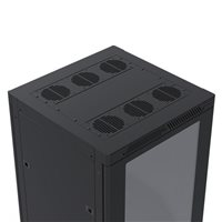 Penn Elcom 22U Rack Enclosure M6 Rail 600mm / 23.62in x 600mm / 23.62in R4066-22UK