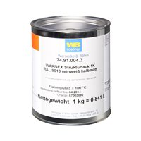 Warnex Cabinet Paint White 1KG MG-9714-9010