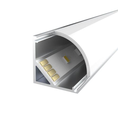 Penn Elcom 3m KIT Profilé d'Angle 10mm en Aluminium LEDAL03M3  - Cliquez pour agrandir limage