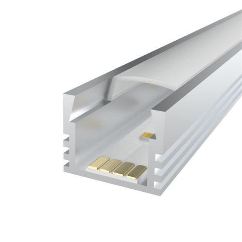 Penn Elcom 3m Ledal07 Kit for 12mm Deep Aluminium Profile LEDAL07M3  - Click to view a larger image