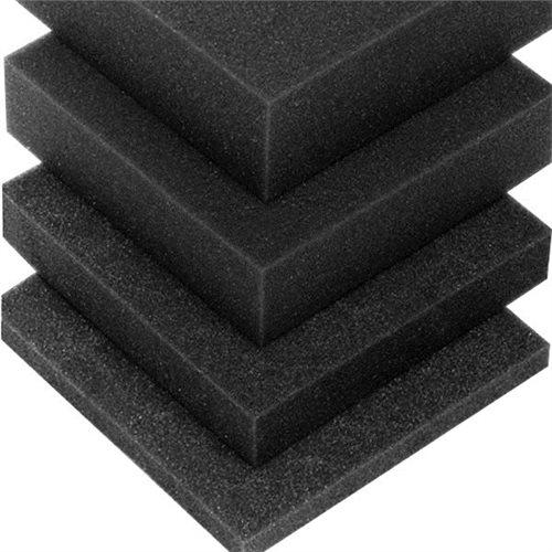 Penn Elcom Plaque de Mousse Noire 49mm x 47mm M63810-05  - Cliquez pour agrandir limage