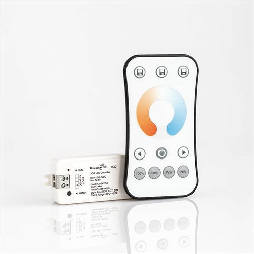 Teucer Led TW 1zone RF Remote and Receiver LR-TWN+R3C  - Click to view a larger image