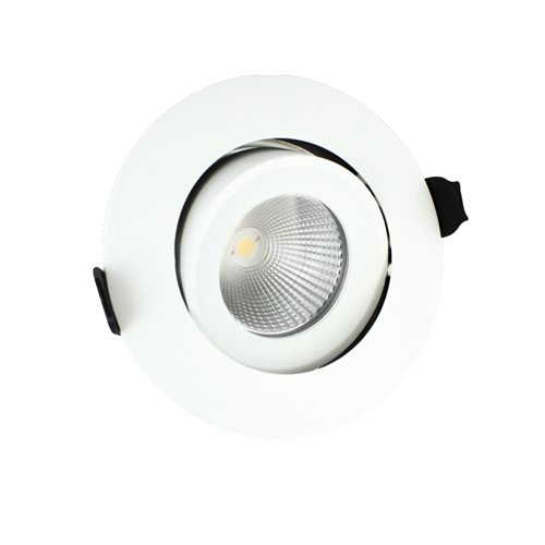Integral Led Fire Rated Downlight 11w 3k 55deg Dim 5055788223870  - Click to view a larger image